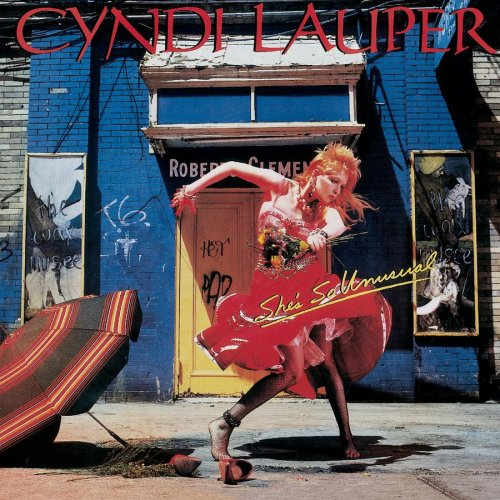 Cyndi Lauper - She's So Unusual (Portrait) 1983